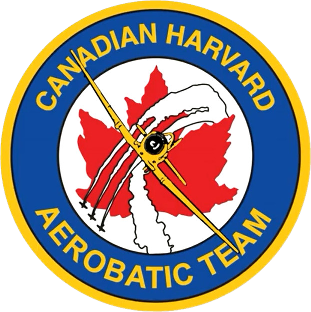 Canadian Harvard Aerobatic Team Logo